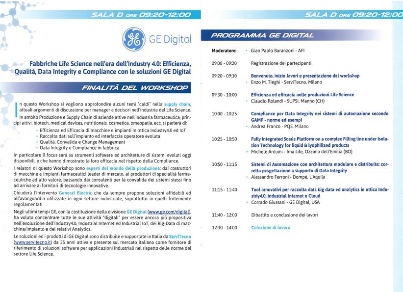 Agenda Workshop AFI 2016