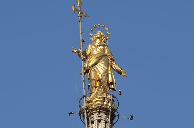 La Madonnina Del Duomo Di Milano Eraldo Tieghi E Le